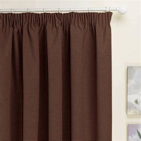 kent thermal pencil pleat lined door curtain panel 66 x