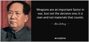 Mao Zedong quot... Important War Quotes