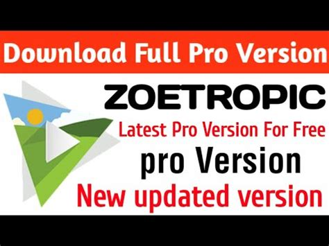 zoetropic apk pro version for free