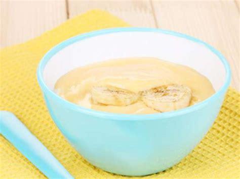 cuisine bébé recettes de bananes de la cuisine de bébé
