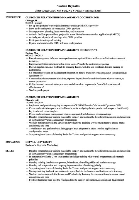 Project Manager Skill Set Resume by 15 Customer Relationship Manager Resume Bank Statement