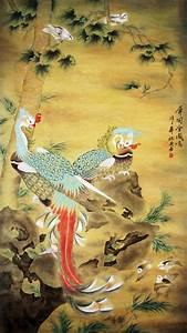 Chinese Phoenix Painting 4618003, 90cm x 170cm(35〃 x 67〃)