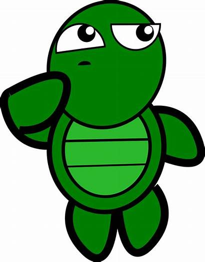 Turtle Thinking Clip Onlinelabels Svg