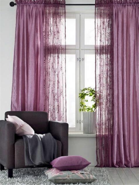 moderne gardinenideen praktische fenstergestaltung