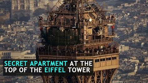 There Is A Secret Apartment At The Top Of The Eiffel Tower