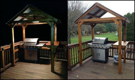 gazebo for grill build your own backyard grill gazebo diy grill gazebo