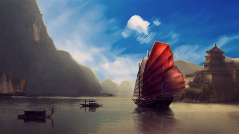 chinese scenery wallpaper  images
