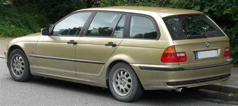 bmw 318 touring file bmw 318i touring e46 rear jpg wikimedia commons