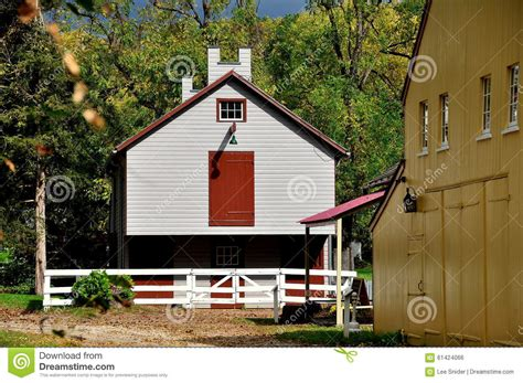 Yellow Barn Center Valley Pa by Lancaster Pa Landis Museum Buildings Editorial Photo