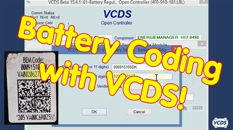 Battery Coding - YouTube