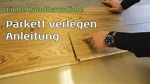 Klick Parkett Verlegen : parkett verlegen youtube ~ Watch28wear.com Haus und Dekorationen