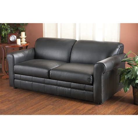 loveseat sleeper leather klaussner 174 leather sleeper sofa 142318 living