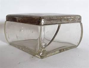 Glasgefäß Mit Deckel : antikes massives glasgef glasdose mit 800 silber deckel montur ebay ~ Eleganceandgraceweddings.com Haus und Dekorationen
