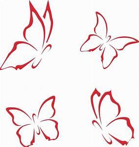 Schmetterling, Vorlagen, Zum, Ausdrucken, Gratis