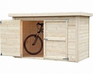 Wandschrank Selber Bauen : fahrradgarage wandschrank velo mit fu boden 206x102 cm natur jetzt kaufen bei hornbach sterreich ~ Watch28wear.com Haus und Dekorationen