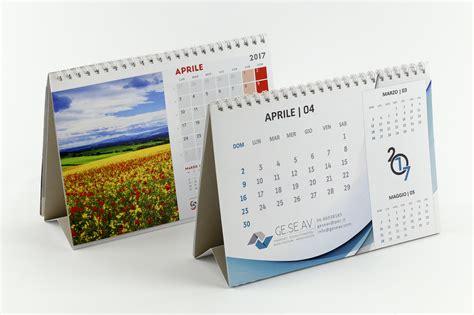 Calendari Da Scrivania by Sta Calendari Da Tavolo E Da Scrivania Personalizzati