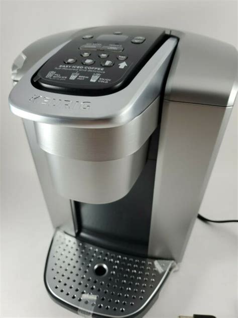 When keurig says that its new machine delivers the most beverage customization in any keurig single cup coffee maker model, it's telling. Keurig K-Elite Single Serve Coffee Maker - Brushed Slate for sale online | eBay