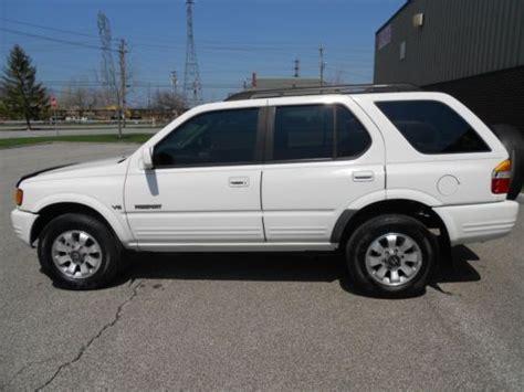how to fix cars 1998 honda passport free book repair manuals sell used 1998 honda passport 4x4 in mentor ohio united states
