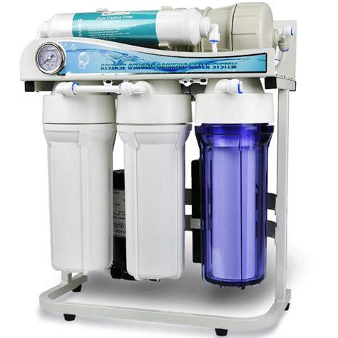 under sink water filtration system ispring dual flow 500 gpd commercial grade tankless under