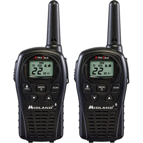 2 way radio range midland lxt500vp3 24 mile range two way radio pair 22 channels price increase