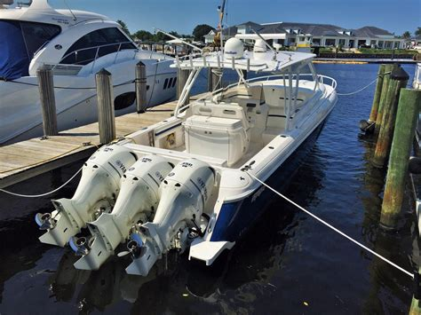 Intrepid Cabin Boats by 2015 Used Intrepid 400 Cuddy400 Cuddy Cabin Boat For Sale