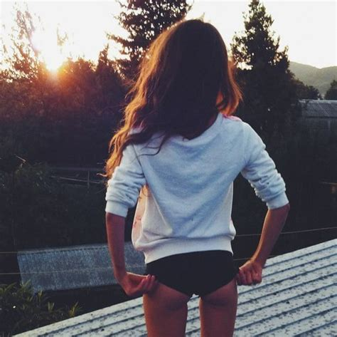 Thin Lean Petite Girls Bums