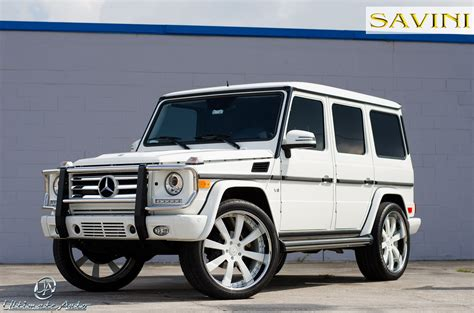 mercedes g wagon g wagen savini wheels