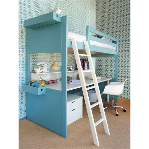 lit à étage avec bureau awesome lit mezzanine avec bureau with lit a etage avec bureau