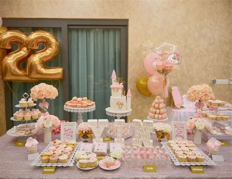 pink white gold birthday quot lee yin s 22nd elegant theme