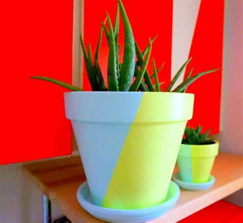 tone painted pots fancy diy project