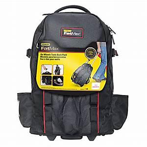 Sac A Dos Outils : stanley sac dos pour outils avec roulettes noir 514192 ~ Melissatoandfro.com Idées de Décoration