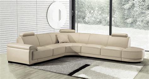 canapé blanc en cuir canapé canapé d 39 angle canapés design mobilier design