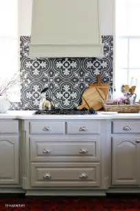 kitchen cabinets and backsplash black and white mosaic tile kitchen backsplash with gray