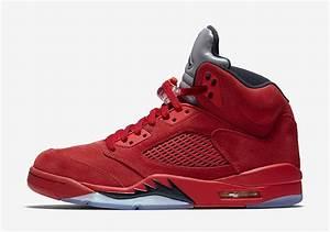 Air Jordan 5 Flight Suit (Red Suede) Release Date 136027 ...