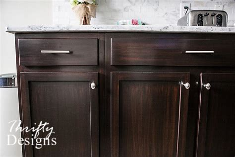 general finishes java gel stain kitchen cabinets kitchen makeover in java gel stain general finishes 9223