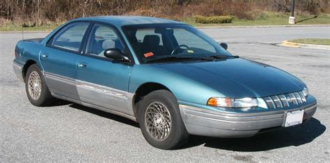 Chrysler Concorde Mpg by 1993 Chrysler Concorde Information And Photos Zomb Drive