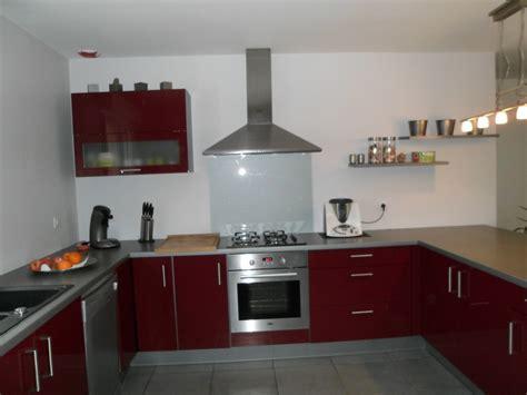 mur cuisine notre cuisine photo 2 3 la couleur des mur c 39 est gris tendance