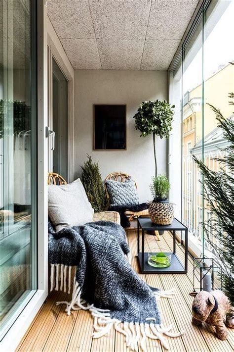 30+ Fascinating Small Balcony Ideas With Relax Seating