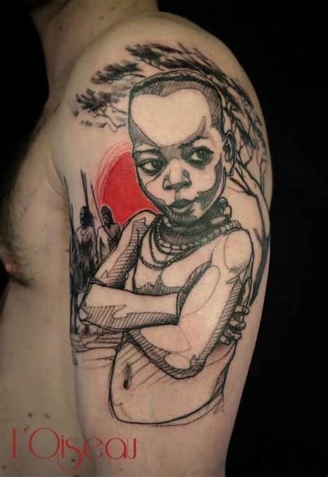 african sleeve tattoo ideas  african sleeve tattoo