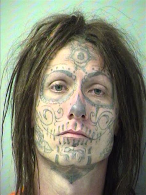 tattoos mug shot  smoking gun