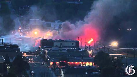 Crude Oil Train Explosion In Lac Megantic