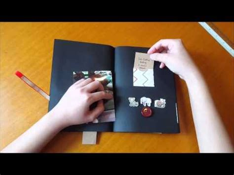 Diy Scrapbook For A Best Friend Youtube