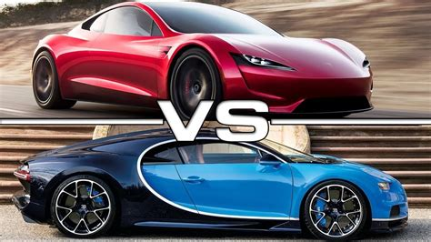 Not only did this car set records, but it was engineered to push those boundaries every single day. 2020 Tesla Roadster vs 2018 Bugatti Chiron - YouTube