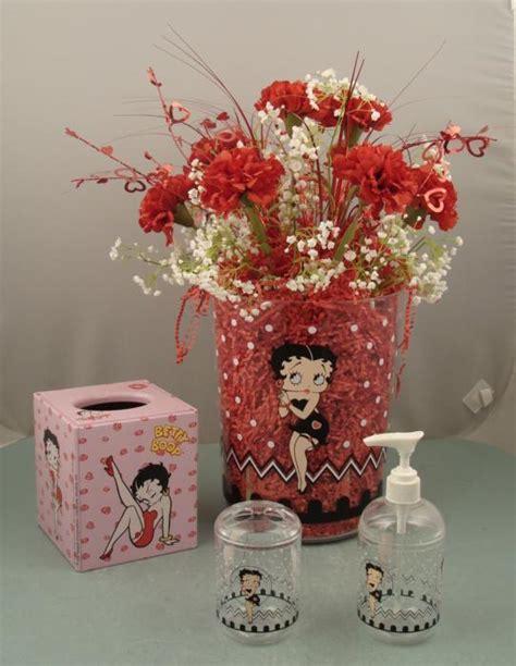 betty boop bath set betty boop bathroom accessories flower vase