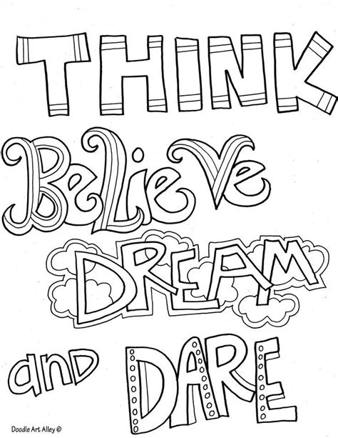 inspirational quotes coloring pages quotesgram by