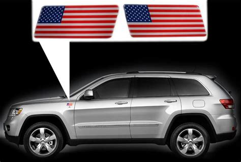 jeep cherokee american flag eu decals