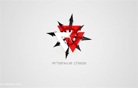 Chaos insurgency is one of the clipart about null. Wallpaper white, red, Chaos, Logo, words, Symbol, Organikum, 2017 images for desktop, section ...