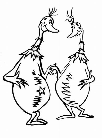 Seuss Sneetches Coloring Dr Clipart Pages Sneetch
