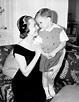 Olivia de Havilland and son Benjamin Goodrich | Olivia de ...