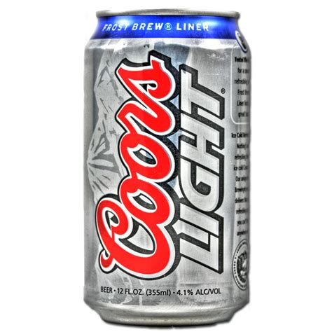 is coors light the american food store coors light